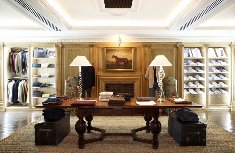 The home of Alfred Dunhill in Bourdon House