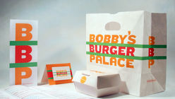 A royal treat: Pentagram is given the keys to Bobby's Burger Palace
