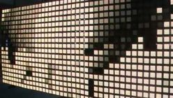 Shiny, happy: Interactive OLED wall trips the light fantastic