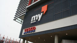 Tesco tries department store retailing in central Europe