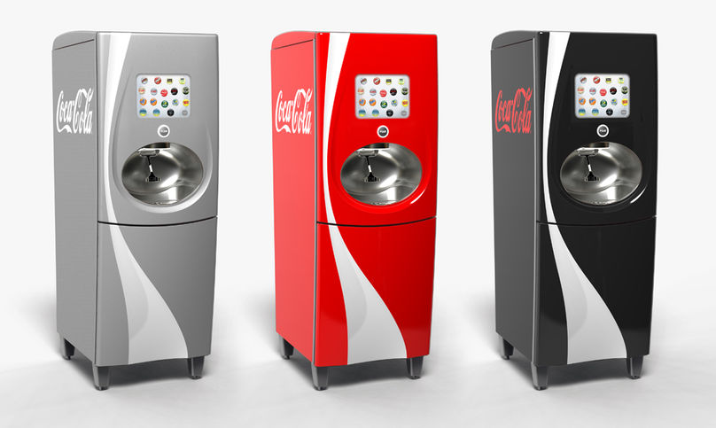 Coca-Cola's new Freestyle machine