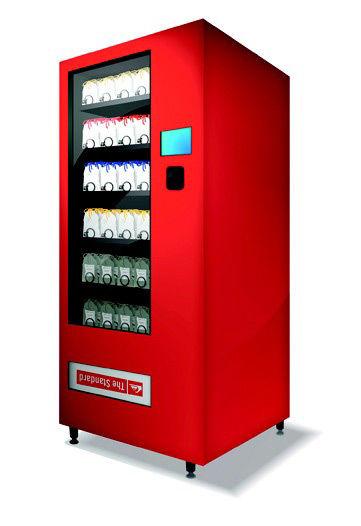 Quicksilver vending machine