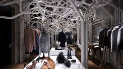 In the pipeline: Fantastical forest grows in retail space