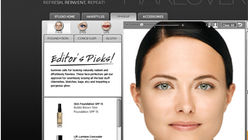 Cover-up: Website gives virtual makeover