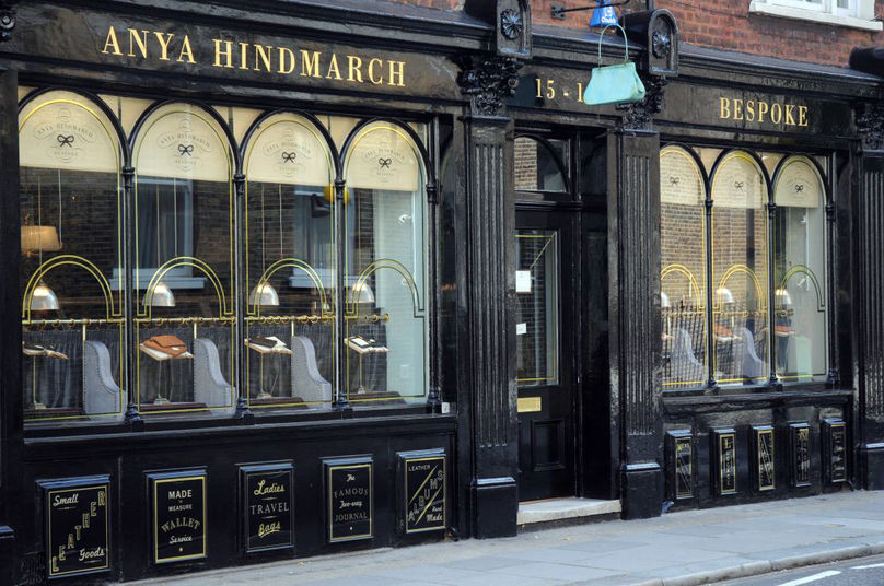 Anya Hindmarch bespoke boutique, London
