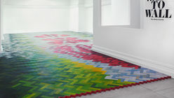 Floored: New installation explores flooring, textiles