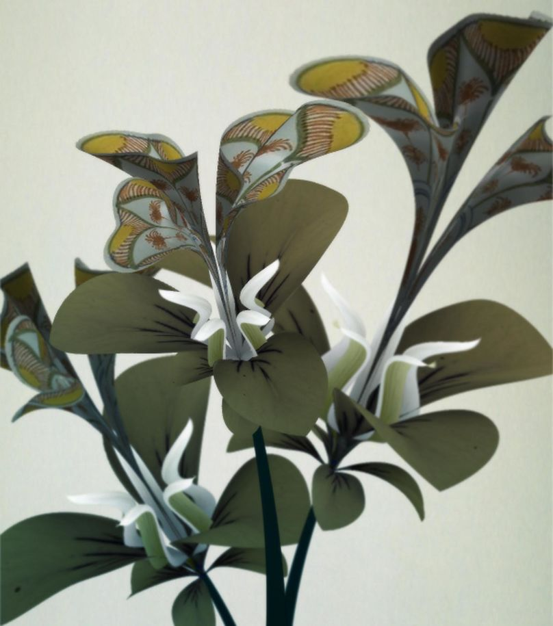 Prototype from the Flowers Series by Daniel Brown