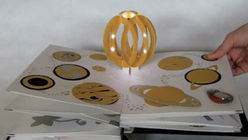 Light up: Designers create electronic children's book