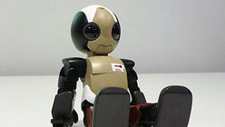 Robot rock: Humanoid bot runs, jumps
