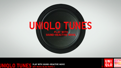 What's that tune: Uniqlo releases sound-reactive blog part