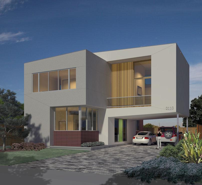 Hometta_Binary House_Collaborative Designworks_Texas