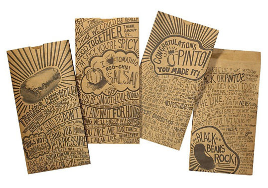 Packaging for Chipotle Burrito
