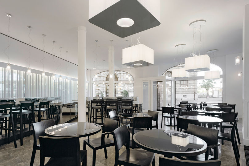 Confiserie Bachmann by HFF Architects, Basel