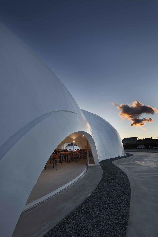 Hoto Fudo restaurant by Takeshi Hosaka Architects, Mount Fuji, Japan