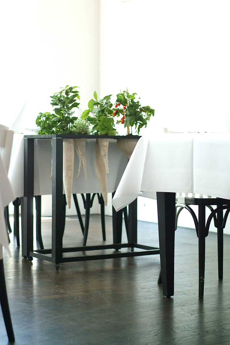 Green Seasoning trolly  by Roland pieter Smit for The White Ladys Restaurant