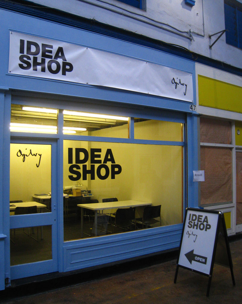 The Idea Shop, Ogilvy, Brixton, UK