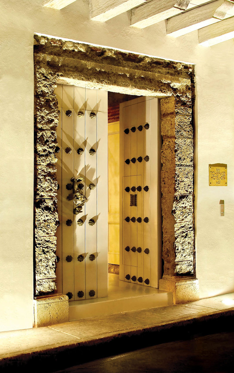 Hotel Entrance, Tcherassi Hotel and Spa, Colombia