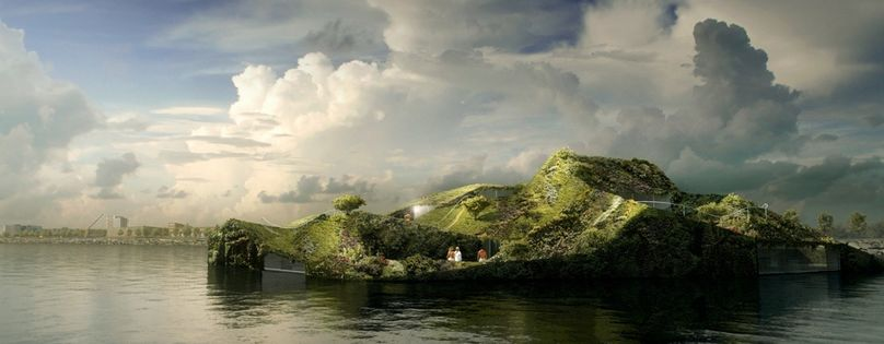 The Green Floating by Studio Noach, Amsterdam