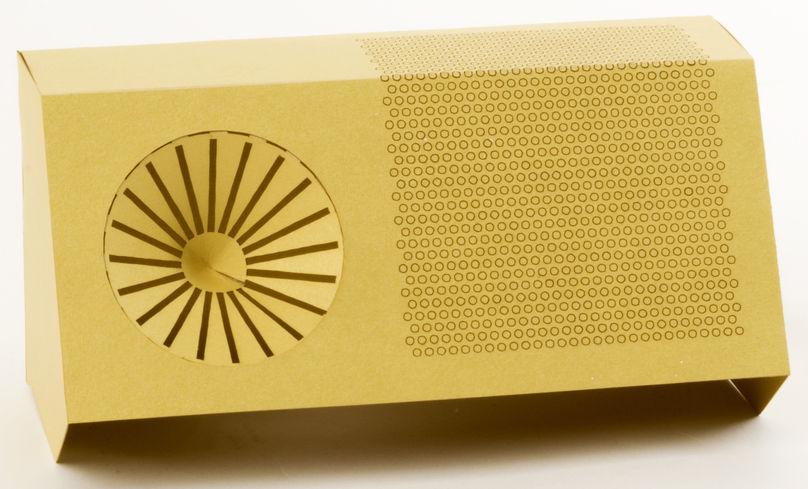 RFID radio by Matt Brown, Italy