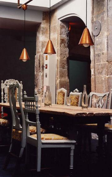 Derriere restaurant, photography by Andrea-Ferrari, Paris