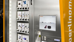 Upmarket vending: Automatic sales machine gets makeover
