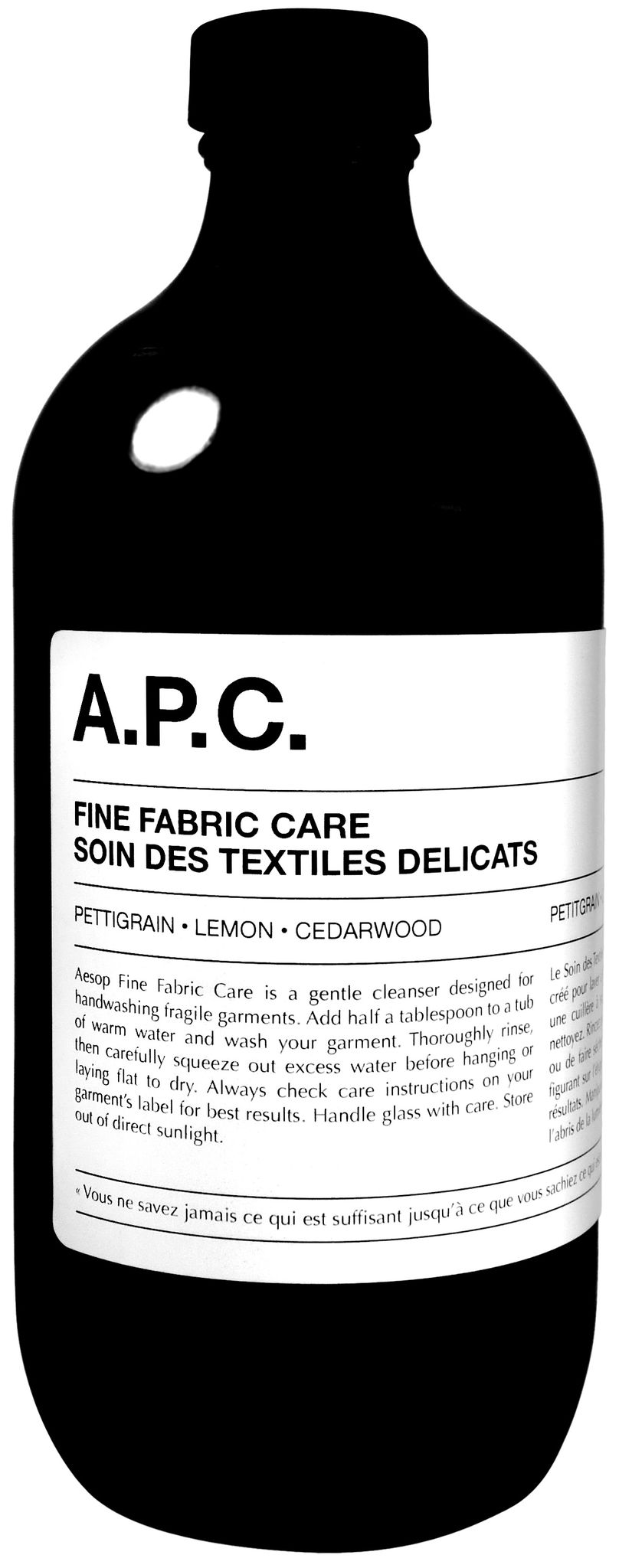 Fine Fabric Care by Aesop and A.P.C