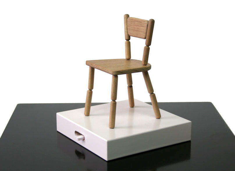 Miniature Lazy Chair by Fresh West for Laikingland, Creative Collaborations, Salone del Mobile Milan