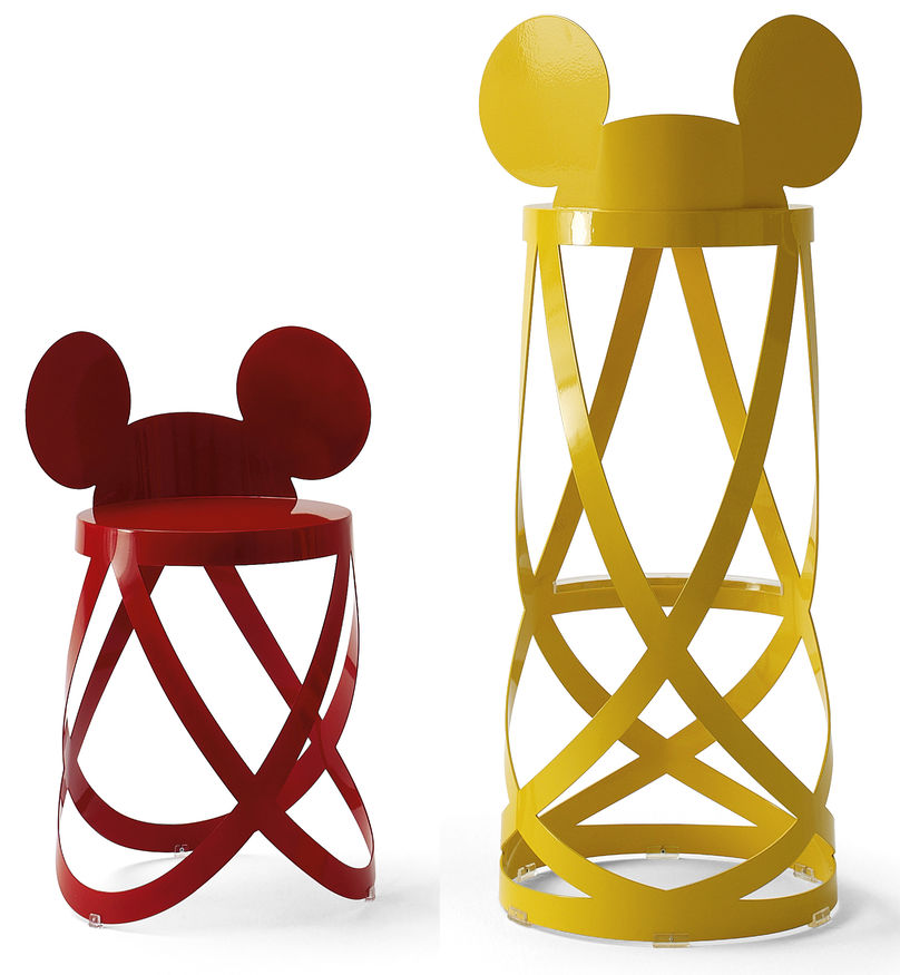 Mickeys Ribbon stool WDS limited edition by Cappellini