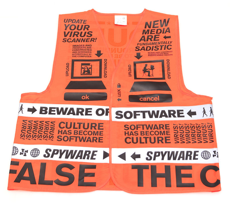 Beware of software vest, Saved by droog
