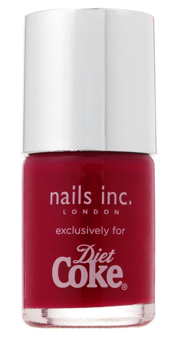 Diet Coke nail polish, Nails Inc, London