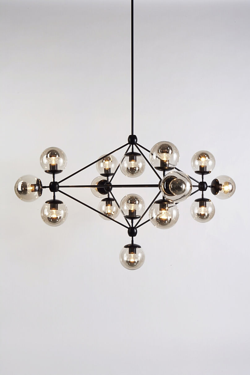 Modo Chandelier by Roll and Hill, ICFF, New York