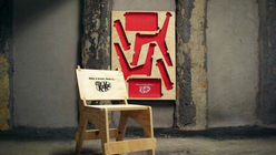 Have a break: Kit Kat unveils flat-pack chairs