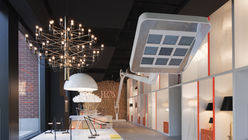 Lighting with dinosaurs: Flos opens first US store