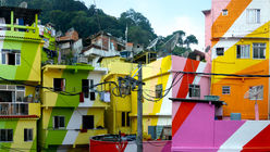 Favela chic: Artists give slums a brighter future