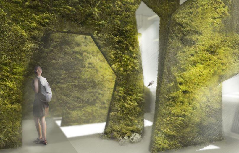 PUSHAK Installation, London Festival of Architecture, London