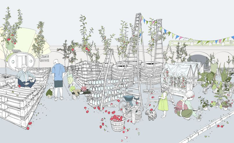 Urban Orchard, London festival of Architecture, London