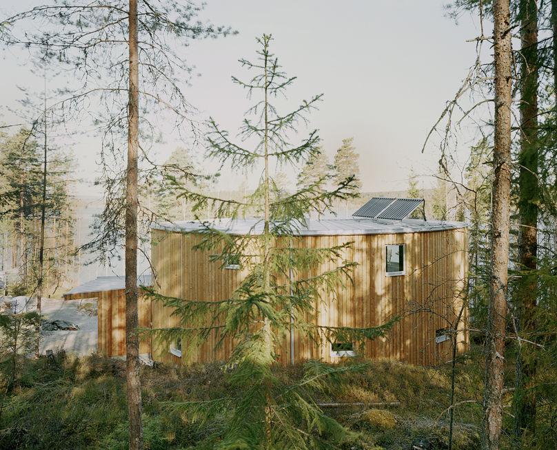Villa Nyberg by kjellgren kaminsky Architecture, Sweden