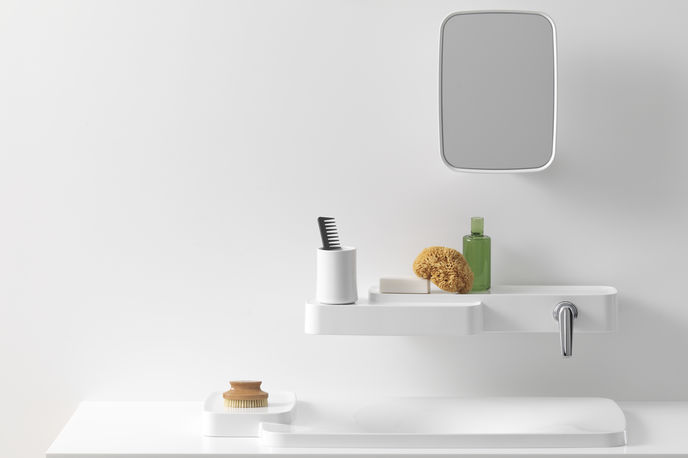 Bathroom collection by Ronan and Erwar Bouroullec for Axorm Paris
