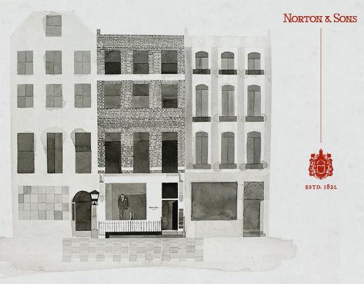 Norton and Sons, Saville Row, London