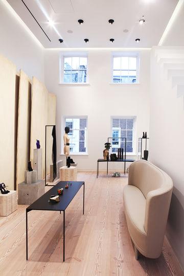 lsn news fashion studio acne creates london showcase. Black Bedroom Furniture Sets. Home Design Ideas