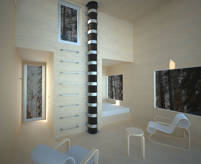 Lsn news rooms with a view tree hotel opens in sweden for Mirror hotel