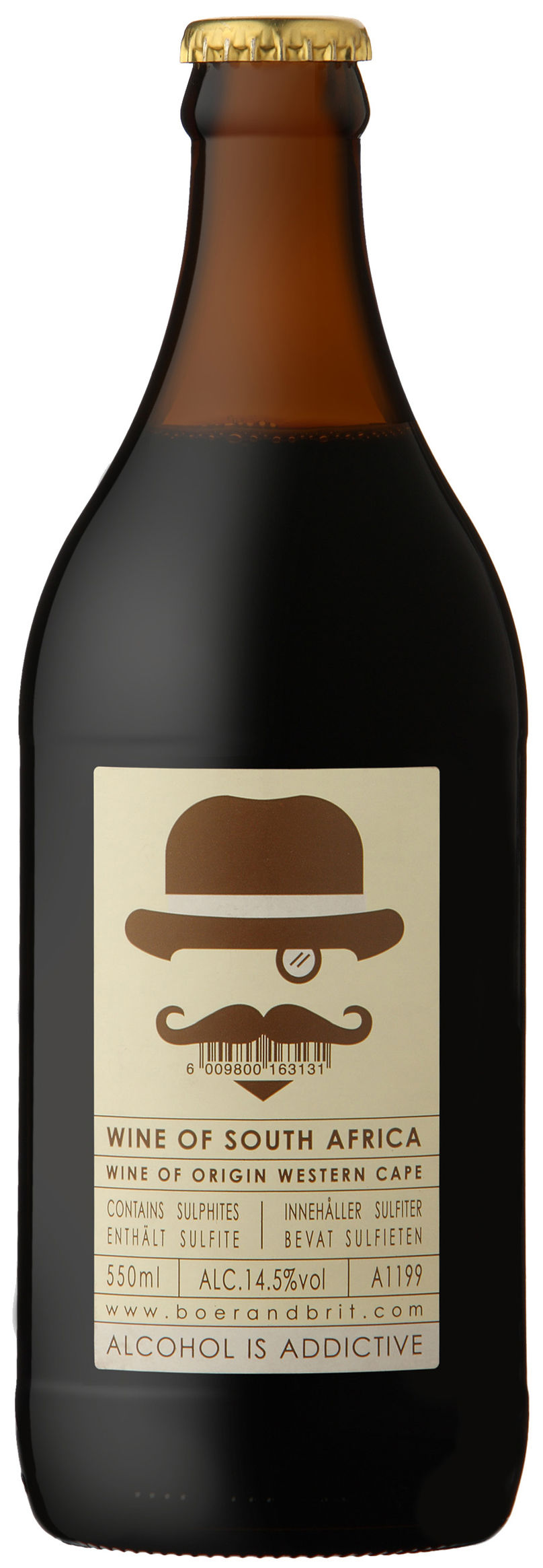 The Red Brew Bobs Your Uncle wine by Fanakalo, South Africa
