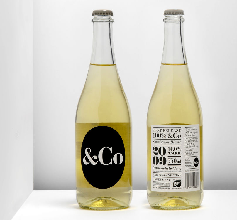 &Co packaging by InHouse, New Zealand
