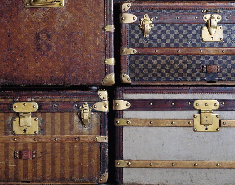 100 Legendary trunks, Louis Vuitton, Paris