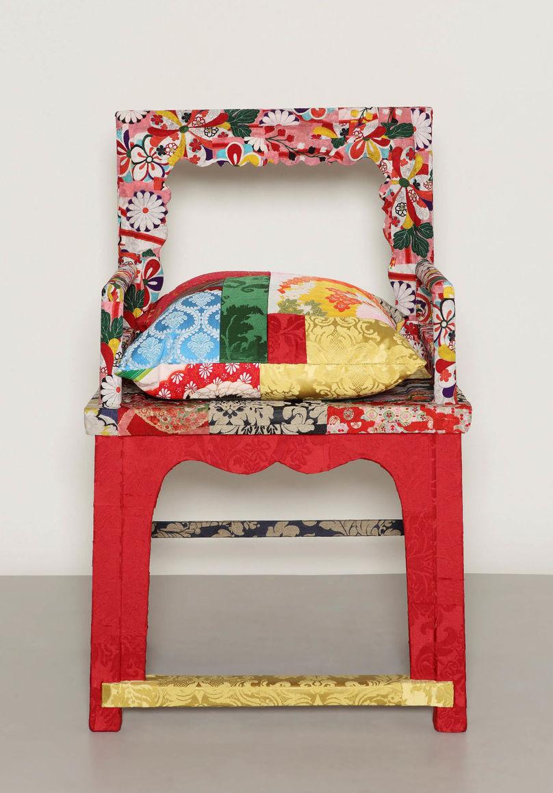 Lane Crawford_Squint chair_Hong Kong - Front