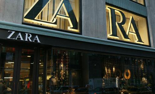 Zara extends its online and offline presence
