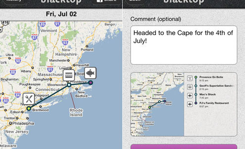 Blacktop joins the dots of users' busy lives