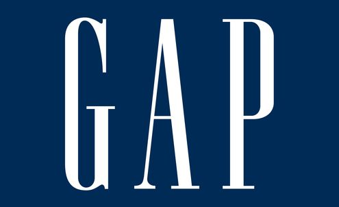Social media all of a Twitter about Gap logo