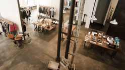Raw elegance: Store offers rough-luxe experience