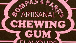 Chew it over: Gum factory visitors in the pink
